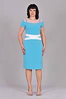 Нарядное женское платье модного кроя, фото 1