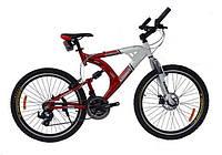 Двухподвесный велосипед azimut Scorpion A-FD 26