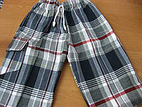 Детские шорты-капри для мальчиков 8-12 Турция