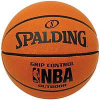 Игровой баскетбольный мяч Spalding NBA №7, GRIP CONTROL OUTDOOR