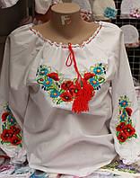 Вышитая сорочка для девочек