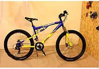 Горный двухподвесный велосипед Azimut Ultimate 26 GD New