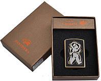 Электронная зажигалка USB  №310945 с эротичным рисунком - функциональность и креативный дизайн