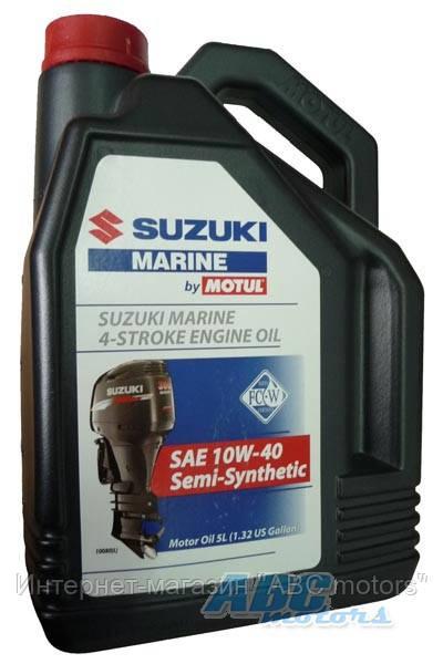 масло suzuki для 4х тактных лодочных моторов