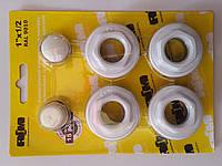 Комплект для подключения радиатора 1/2 без креплений