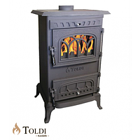 Печь-камин чугунная  Толди  8kw