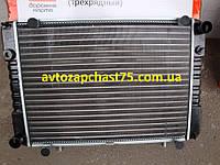 Радиатор Газель 3302, Газ 2217, Соболь 3-х рядных под рамку, алюминиевый , на штырях (Дорожная карта, Харьков)