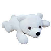 Мягкая игрушка Медведь Соня травка большой белый