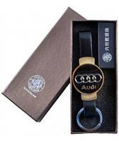 "USB Зажигалка-брелок ""Audi"" №4356 gold"