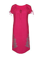 Женское ровное платье ВЕСНА свободного кроя