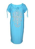 Женское  платье свободного кроя  Анжелика . Лето