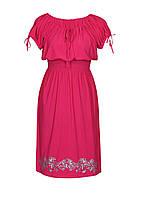 Женское платье-татьянка ХРИЗАНТЕМЫ,лето