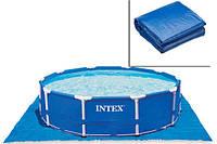 Подстилка под бассейн Intex 28048. Для бассейнов 244/305/366/457см 472x472см
