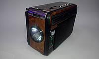 Радио-фонарь KN-208 Rec, яркое LED-освещение, воспроизводит аудио с флэшек и карт памяти, с громким динамиком