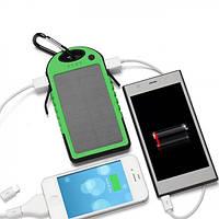 Солнечная батарея SOLAR CHARGER yd-t011g/y PowerBank, ударопрочная, заряжает одновременно два телефона