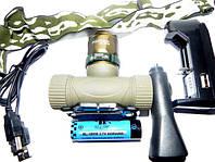 Аккумуляторный налобный фонарь Police BL-6866