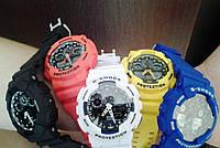 Часы CASIO G-Shock GA 100 разные цвета