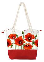 Женская сумка Красные Маки