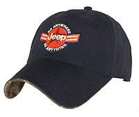 Бейсболки от торговой марки JEEP. Модные кепки. Качественные бейсболки. Оригинальная бейсболка. Код: КШТ12