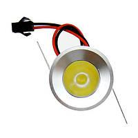 Точечный светодиодный светильник LED 1w DL-C108