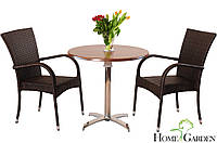 Столик 80см + 2 крісла