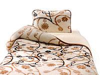 """Одеяло-плед из овечьей шерсти """"Alwero"""" (полутороспальное)"""