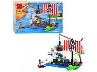 """Детский конструктор """"Пиратский плот"""" Brick 302/298780, 238 детали"""