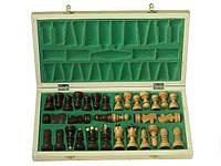 Деревянные шахматы 43x43 см