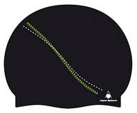 Шапочка для бассейна Aqua Sphere Dakota, black/green