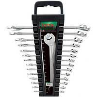 Набор ключей комбинированных 14 шт 6-24 мм TOPTUL GAAC1401