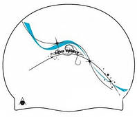 Женская шапочка для бассейна Aqua Sphere Darcy, white