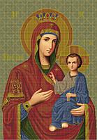 Схема для вышивки бисером Иверская икона Божьей Матери КМИ 1006