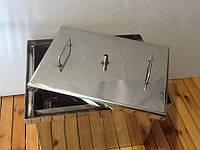 Коптильня с гидрозатвором для горячего копчения  520х310х280мм