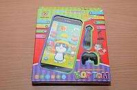 Детский интерактивный телефон кот Том с наушниками Iphone 6  YNA /82-4