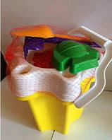 Детский набор для песочницы Ведро Цветочек-2 012-5