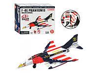 Детские пазлы 4D 26216  Самолет F-4E,  32 дет