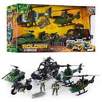 Детский игровой набор  D 123-25 Военная техника