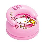 Кресло надувное детское Hello Kitty Intex
