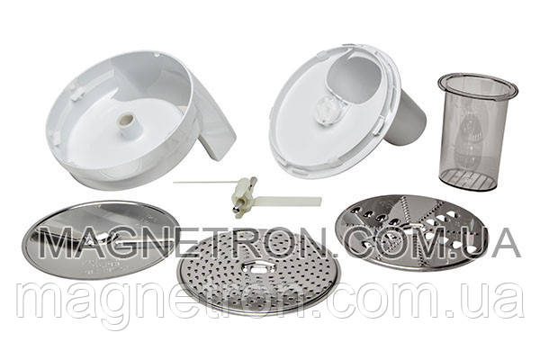 Насадка и диски для нарезки для кухонного комбайна MUM4 Bosch 573643, фото 2