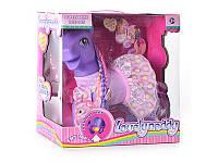 Детская интерактивная игрушка Лошадка 63098  Розовый пони