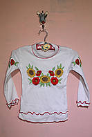 Блуза с красивой вышивкой «Вышиванка - 9»
