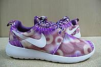 Женские Кроссовки Nike Roshe Run Print