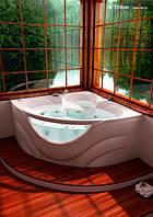 Акриловая ванна Triton Виктория 150x150  (возможна установка гидромассажа)