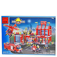 Конструктор Brick Пожарная охрана 911