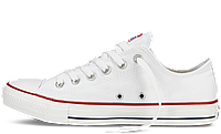 Кеды Converse All Star Original белые низкие (white)