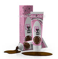 Гель краска горячий шоколад Emi 5мл