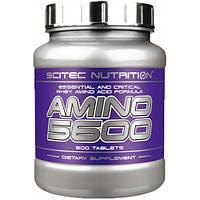 Амінокислоти гідролізовані scitec nutrition Amino 5600 500 таб