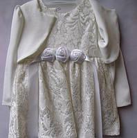Детское нарядное платье для девочки, рост 86 см (1-1,5 года)