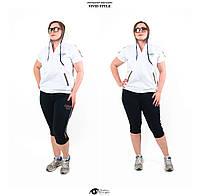 Женский легкий спортивный костюм летний