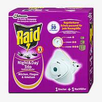 Raid Night & Day Trio Insekten-Stecker - Защита от насекомых Трио день и ночь